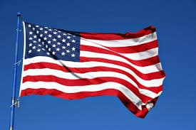 American Flag, Learn English Online
