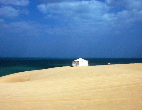 By the Arabian Sea