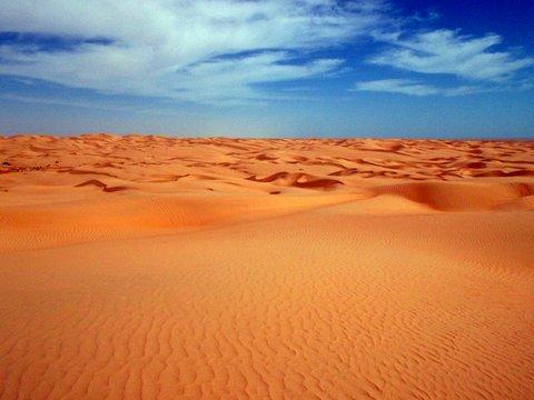 Desert Landscape Oman