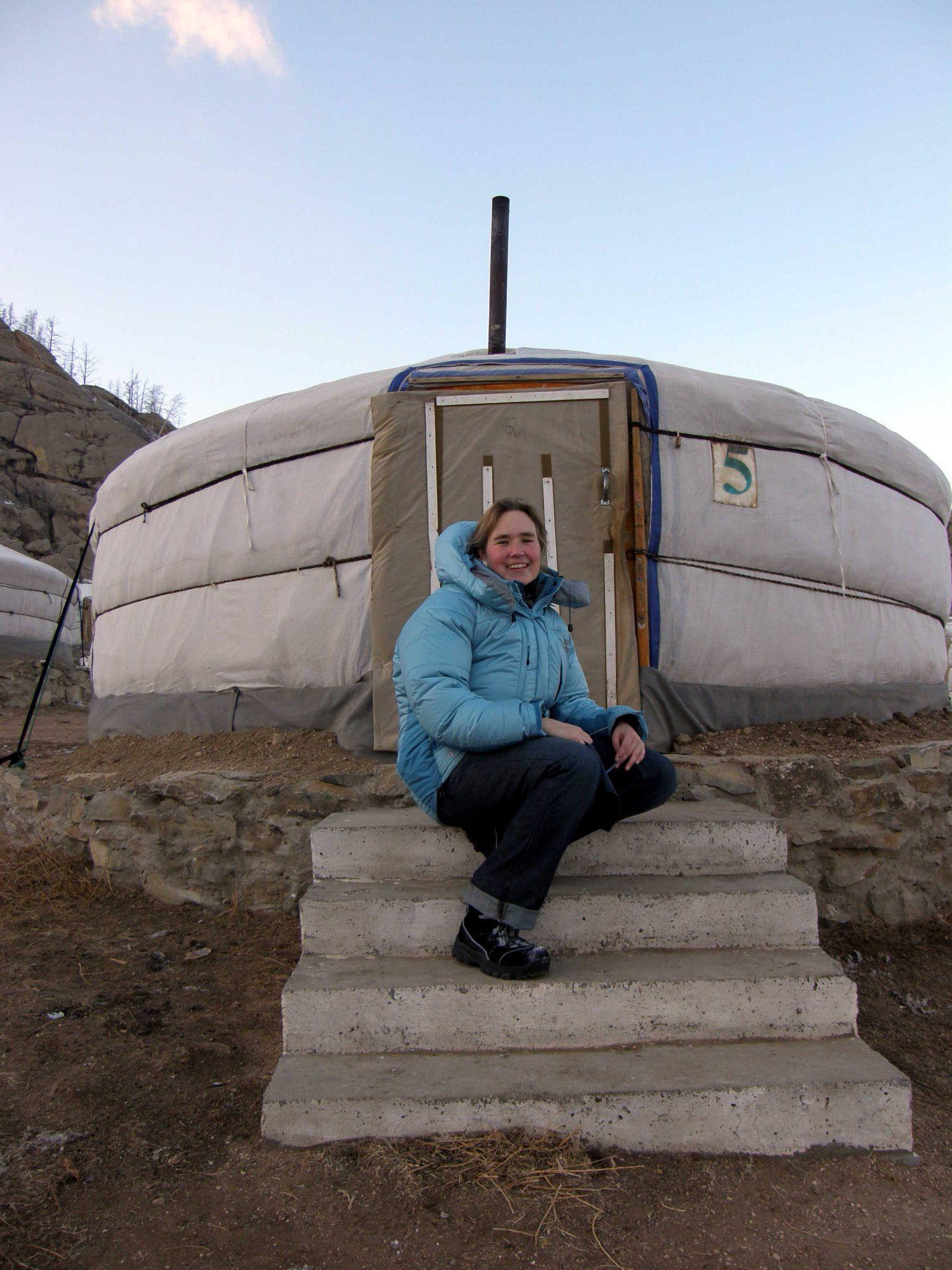 Mongolische Jurte Ger